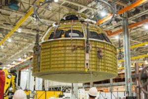 Přetlaková kabina lodi Orion pro misi EM-1 je dokončena