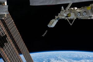 Vypouštění cubesatů pomocí zařízení NanoRacks CubeSat Deployer