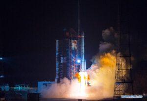 Start rakety Čchang-čeng 3B s běloruským satelitem Belintersat 1