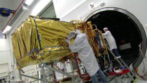 Pozemní příprava satelitu Jason-3
