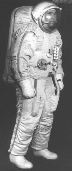 Skafandr Orlan pro lunární expedice