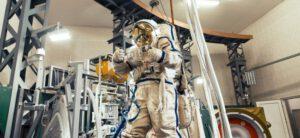 Orlan-MKS během továrních testů