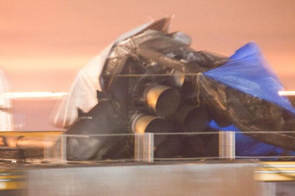 Nejhůře dopadly tři motory, na straně, kam stupeň padal
