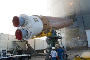 Příprava rakety Atlas V