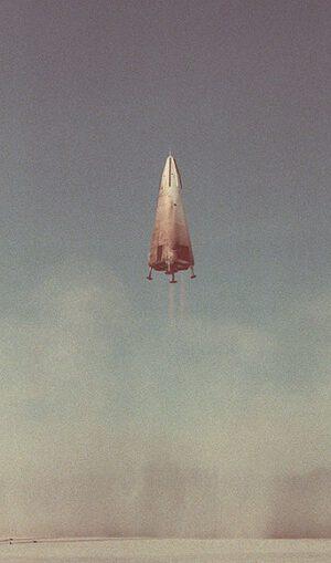První testovací let DC-X
