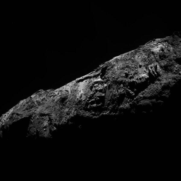 """Poslední fotka """"starého"""" roku 2015 pořízená 31. prosince ve 22:58 SEČ ve vzdálenosti 80 km od jádra (rozlišení 1,44 m/px)"""