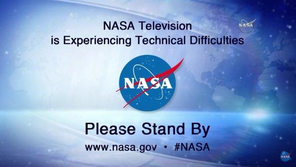 NASA TV hlásí výpadek přenosu. Že by za to mohla SpaceX…