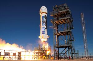 Start New shepard z východetexasského testovacího centra Blue Origin
