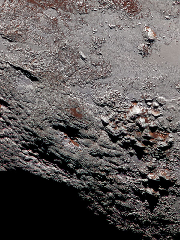 Možný kryovulkán na Plutu