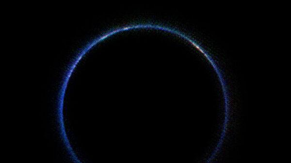 Atmosféra Pluta v infračerveném spektru
