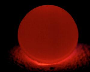 Archivní snímek plutonia 238