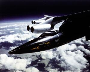 X-15 v podvěsu pod NB-52