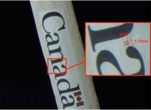 Černá skvrna z pohledu externích kamer ISS