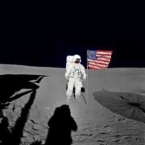 Ed Mitchell - šestá lidská bytost na povrchu Měsíce