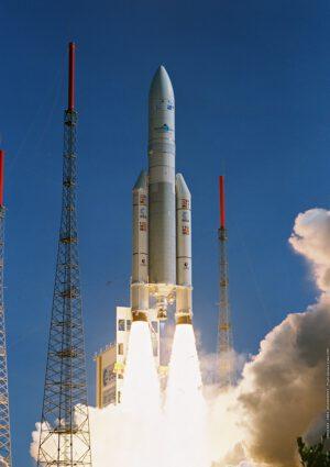 Start evropské rakety Ariane 5