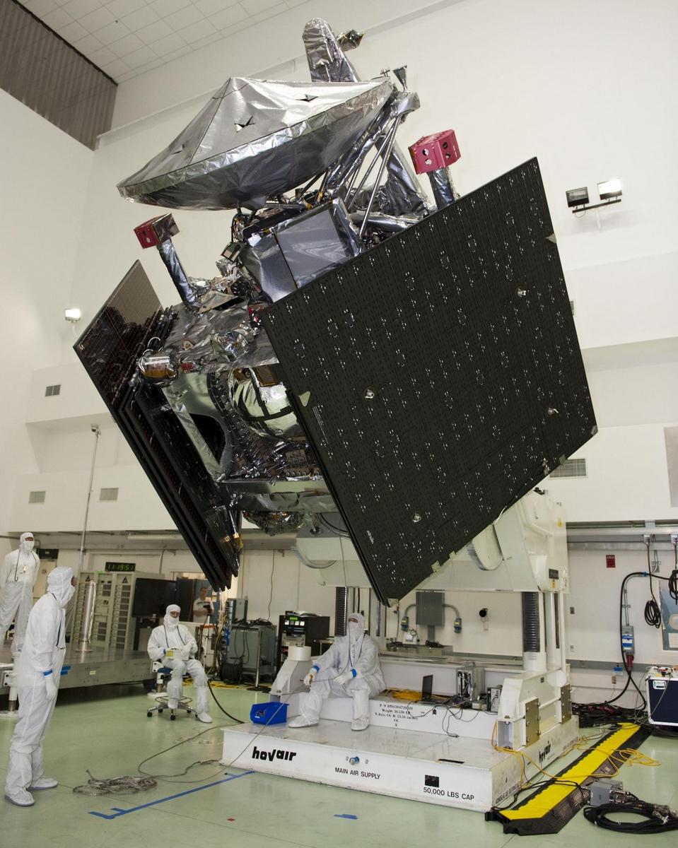 Juno připravená k letu. Zdroj: NASA