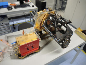 Letový hardware kamery CaSSIS