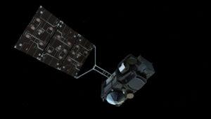 Sentinel 3A z podhledu