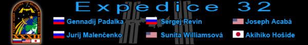 Grafika pro 32. dlouhodobou expedici na ISS