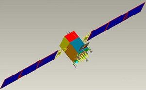 Družice řady Beidou 3M. Zdroj: http://space.skyrocket.de