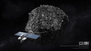 Koncept těžby planetek