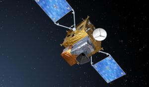 Umělecká představa družice Sentinel 4