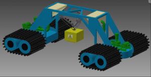 Demonstrační model celého vozidla