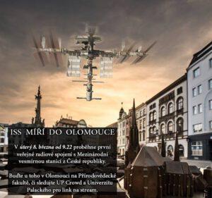 Olomouc se spojí s ISS