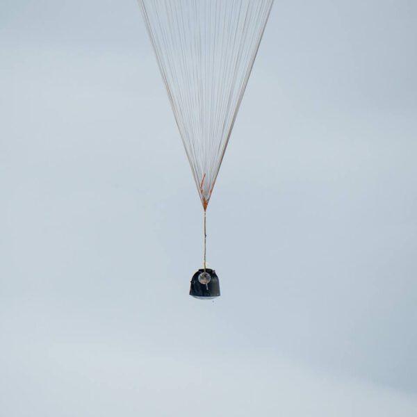 Sojuz TMA-18M se vrací na Zemi