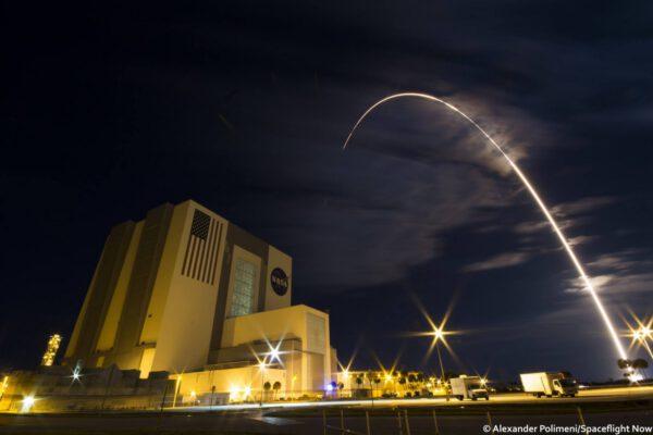 Stopa po letu Atlasu V. se soukromou zásobovací lodí Cygnus