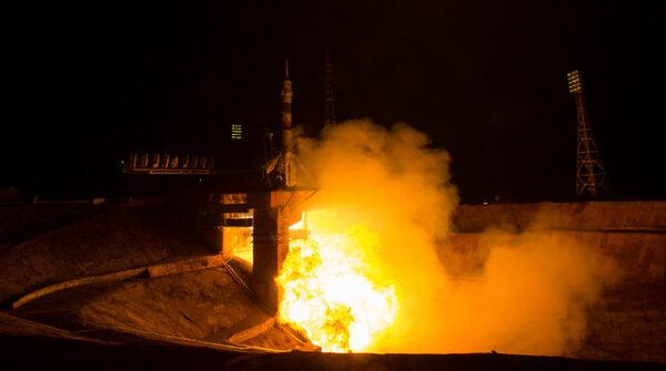 Sojuz TMA-20M startuje