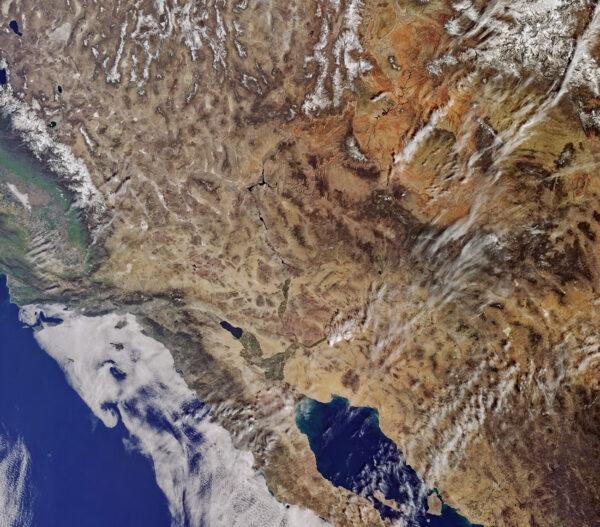 Sentinel 3A zvěčnil i Kalifornii a její okolí