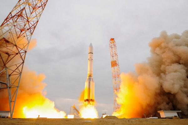 Proton-M vynáší misi ExoMars 2016