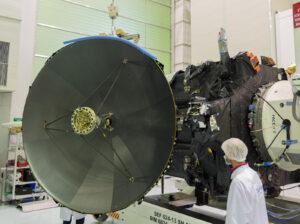 Hlavní anténa sondy TGO