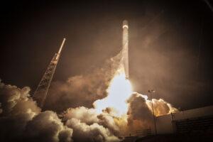 Start rakety Falcon_9 s družicemi ABS 3A a EUTELSAT 115 West B