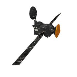 Sonda Trace Gas Orbiter (TGO) s připojeným přistávacím modulem EDM (Schiaparelli)