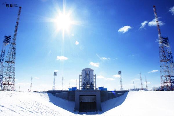 """Tento snímek mne inspiroval k názvu celého článku """"Mrazivá krása sibiřského kosmodromu"""""""