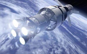 Vizualizace Orionu a EUS.