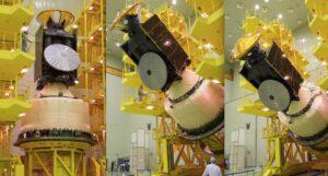 ExoMars 2016 je připojen k raketě Proton