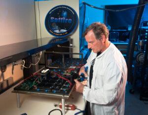 Příprava senzorů pro experiment Saffire