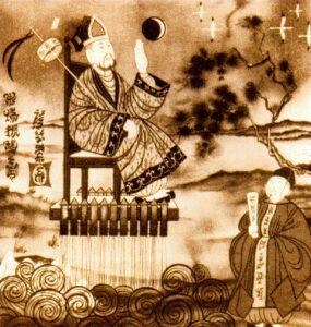 Wan Hu a raketové křeslo
