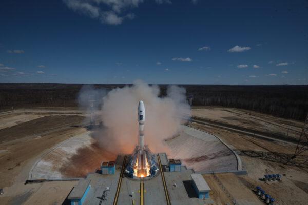 Premiérový start z kosmodromu Vostočnyj