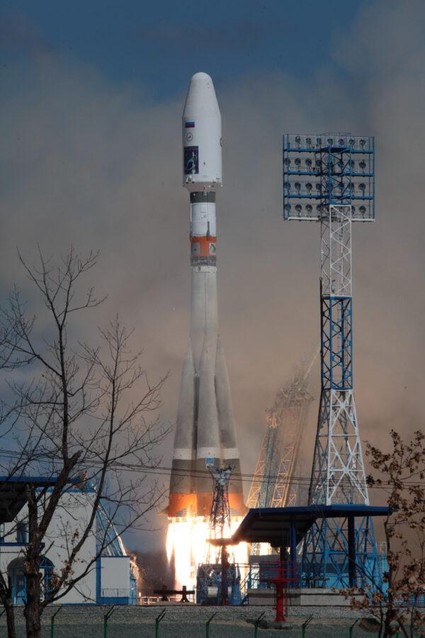 Sojuz 2-1A v plné kráse