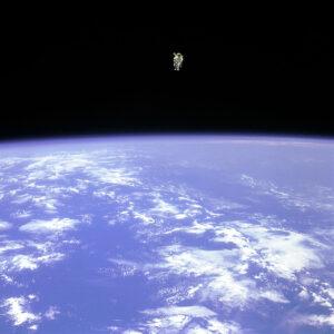 Lidský satelit Bruce McCandless