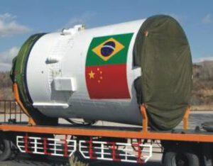 Príprava posledného stupňa rakety CZ-4B