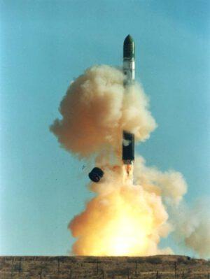 Start rakety Dněpr