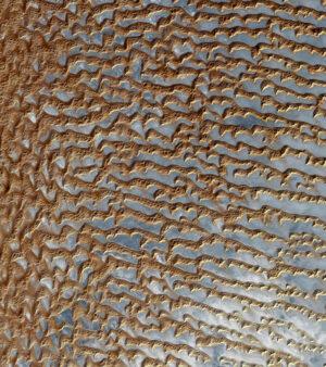 Čtvrtá největší písečná poušť na světě - Rub-al-Chálí na Arabském poloostrově