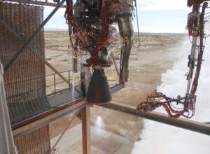 Statický zážeh motoru BE-3