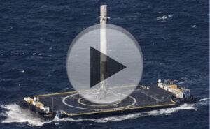 Návrat prvního stupně Falcon 9zdroj:SpaceX