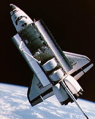 Challenger během mise STS-41-B